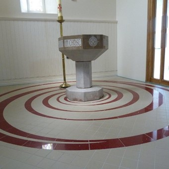 Baptismal Font with Waterjet Cut Design.jpg