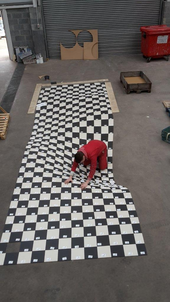 Alice in Wonderland Inspired Optical Illusion Floor (Made by Armatile) - Dry Laid on Armatile Floor (4).jpg
