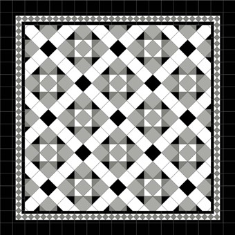 TOLLYMORE MONOCHROME DIAMOND DARK GREY BORDER PRETO INFILL.jpg