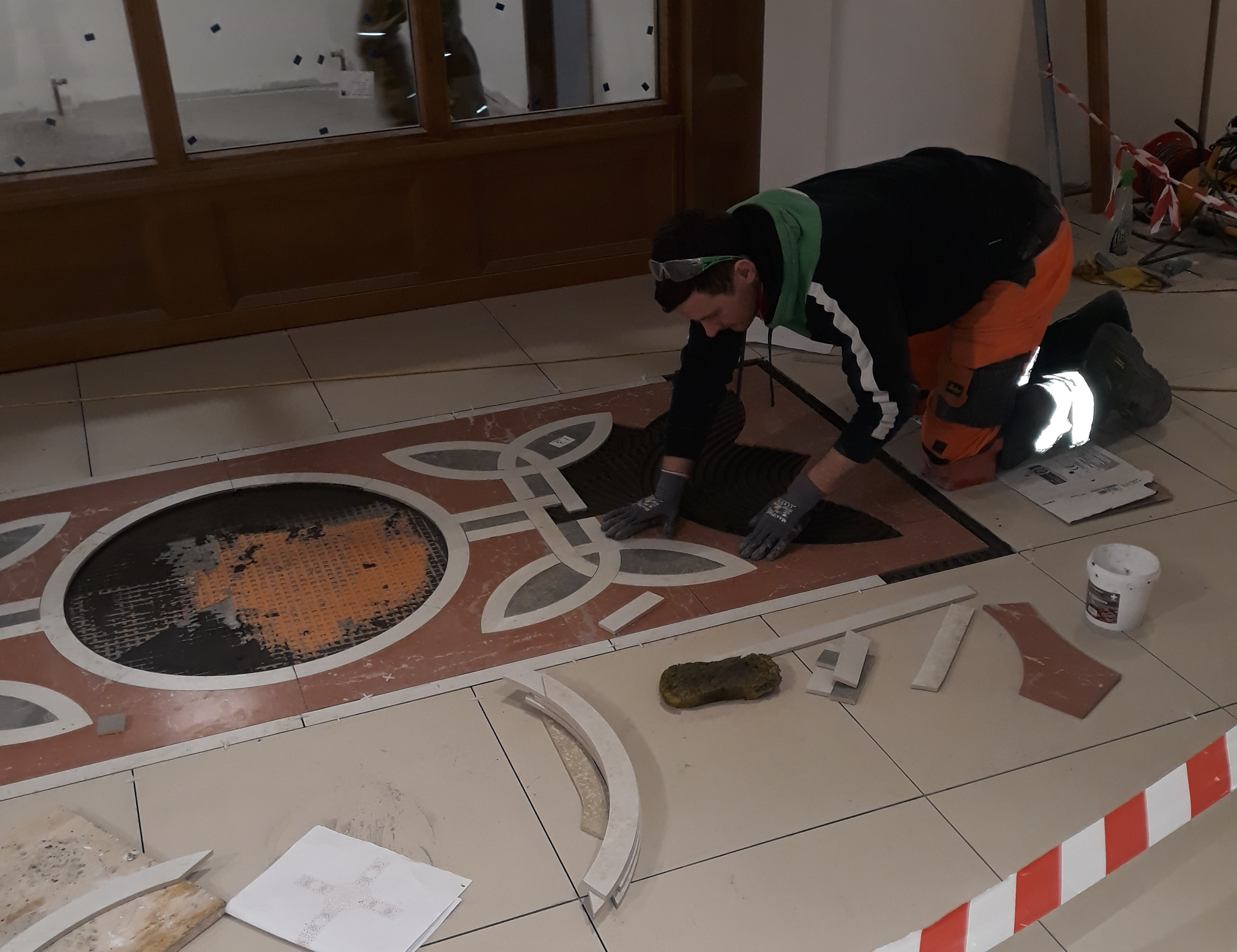 6. St Comgall's Bangor - Waterjet cut pieces Installation.jpg