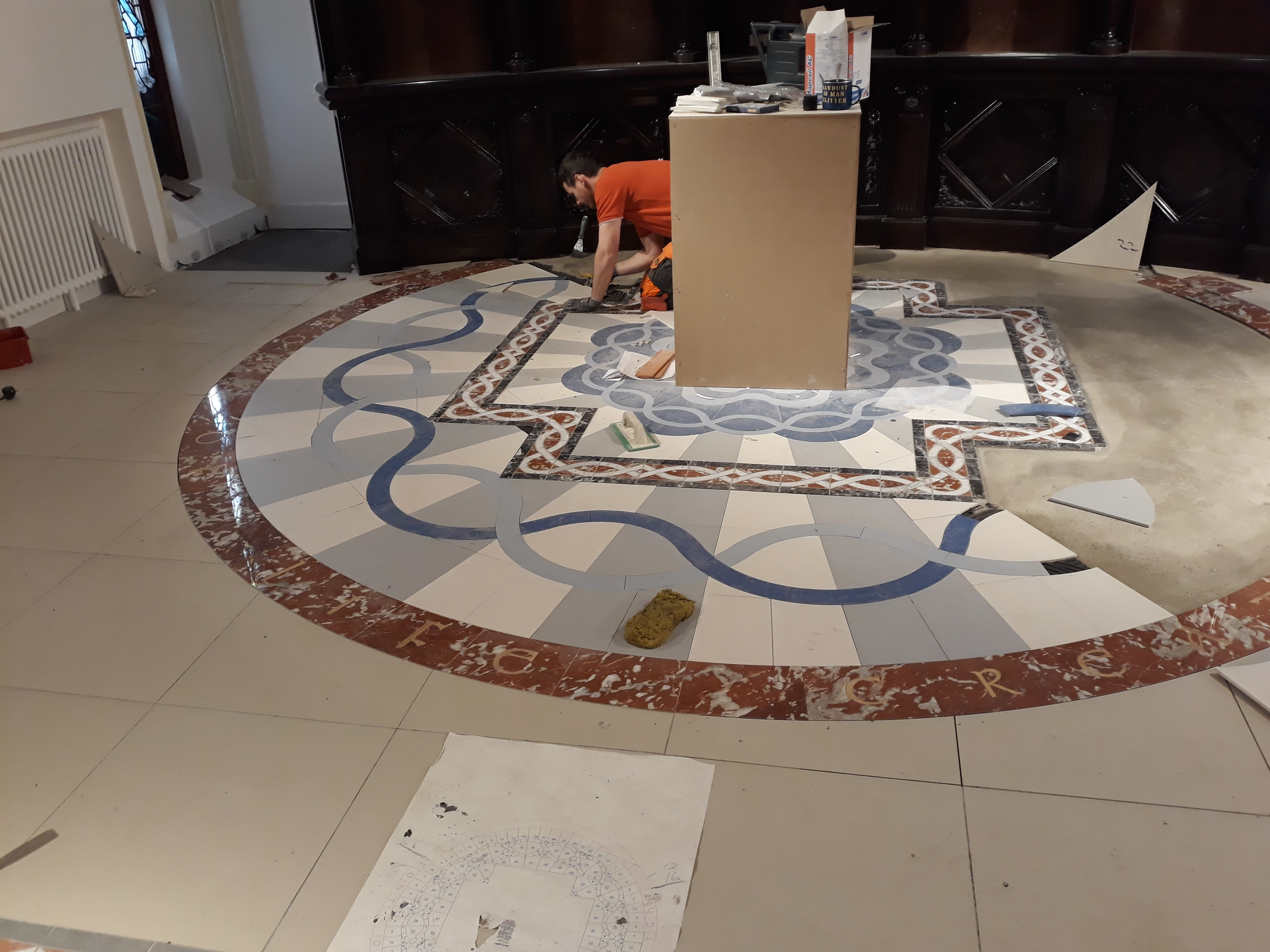 7. St Comgall's Waterjet Cut Surround Installation.jpg