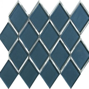 Status Glass Diamond Mosaic 26.5x30 By Armatile - D689 Set with Selene Dark 90x90 tiles (2).jpg