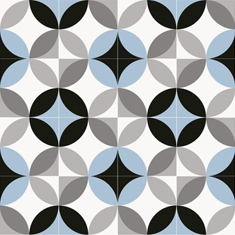 Chic Circ Sky Blue (R10) 20x20 by Armatile - Alternative 16 Tile Swatch.jpg