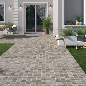 Bruno Cobble Mix 60x60x2cm Porcelain Paving by Armatile (RONAUR50T).jpg