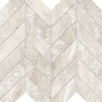 Armatile - Streambed Stone Bone Chevron Mosaic Sheet.jpg