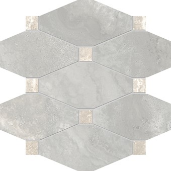 Armatile - Streambed Stone Silver Octagon Mosaic Sheet.jpg