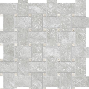 Armatile - Streambed Stone Silver Weave Mosaic Sheet.jpg