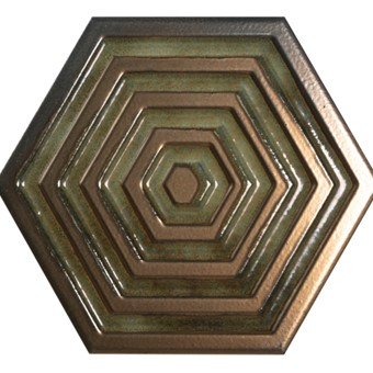 Origins Metal Hexa Gold Tile 19.8x22.8 from Armatile.jpg