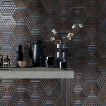 Origins Metal Hexa Iron Tile - 19.8x22.8cm from Armatile.jpg