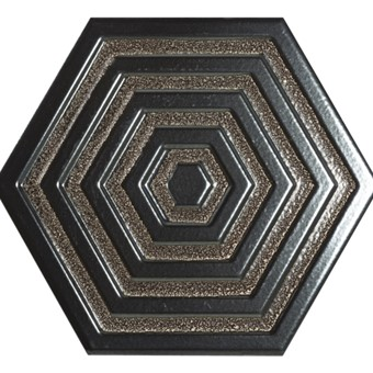 Origins Metal Hexa Iron Tile 19.8x22.8 from Armatile.jpg