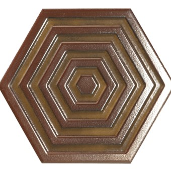 Origins Metal Hexa Pink Tile 19.8x22.8 from Armatile .jpg